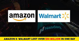 Amazon Walmart have huge loss due to new policy of E-commerce