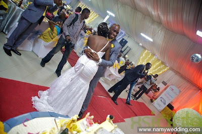 Pictures From Obiwon's Church Wedding & Reception. 19