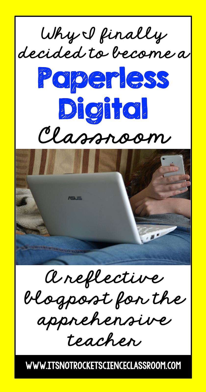 Teaching with technology is the new era of the education field.  Read how and why I finally decided to become a paperless digital classroom, and the digital resources I created for other 1:1 teachers to use with Google Drive or Microsoft OneDrive. Hopefully this will encourage other secondary science teachers who are thinking about transitioning to using more educational technology!