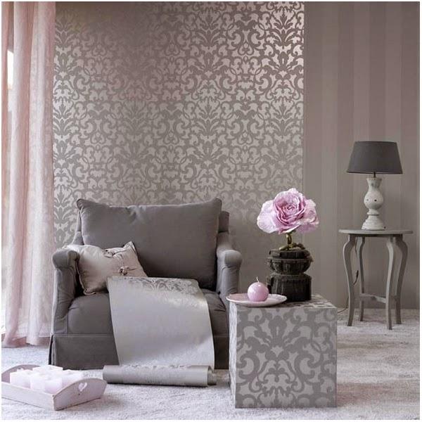 5 cambios solo con pintura cocochicdeco - Papel a rayas para paredes ...