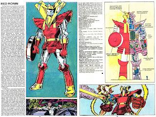 Ronin Rojo (ficha marvel comics)