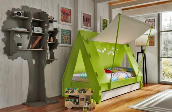 Cuartos temáticos divertidos para niños - Dormitorios ...