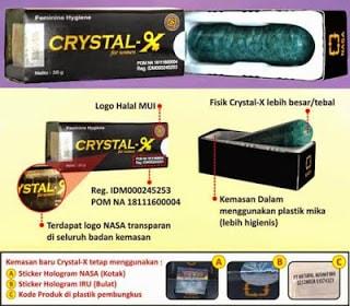 Kemasan Crystal X Generasi Ketiga tahap 2