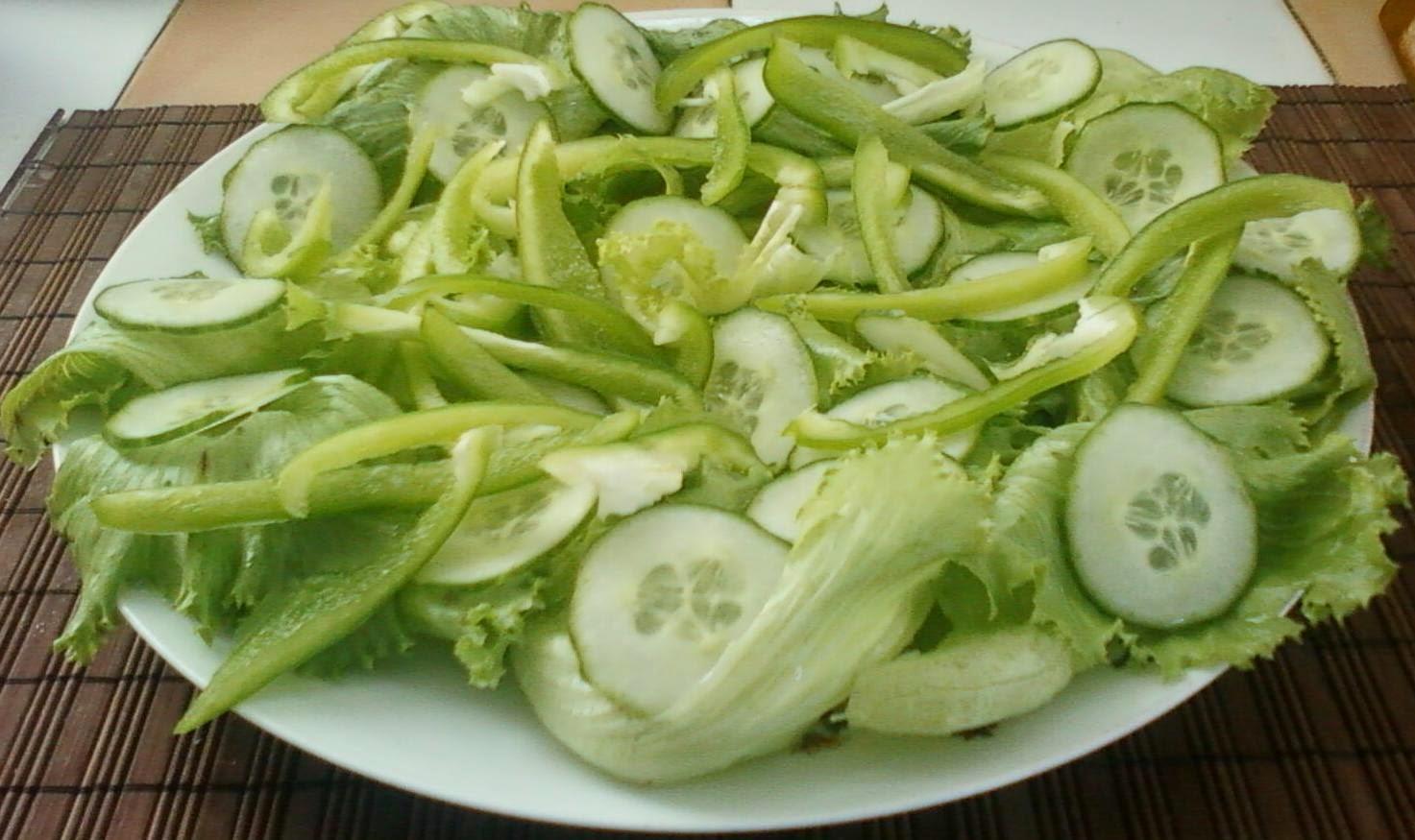 partager avec plaisir recettes de cuisine faciles et id es de d corations salade verte. Black Bedroom Furniture Sets. Home Design Ideas
