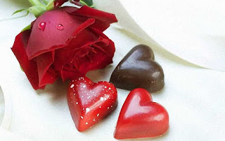 Rosas Rojas chocolates