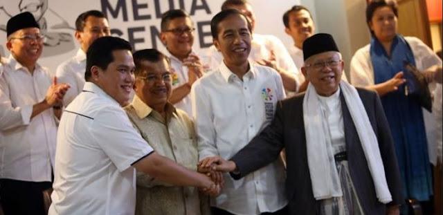 Erick Thohir Beberkan Data Kelemahan Jokowi-Ma'ruf, Dua Wilayah Ini Hancur