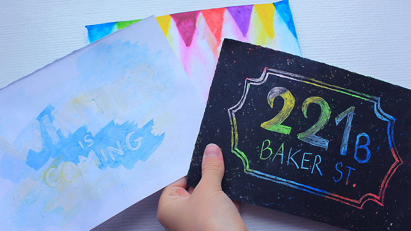 DIY | 3 CARTES FACILES