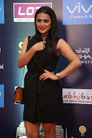 Actress Shraddha Srinath Stills in Black Short Dress at SIIMA Short Film Awards 2017 .COM 0017.JPG