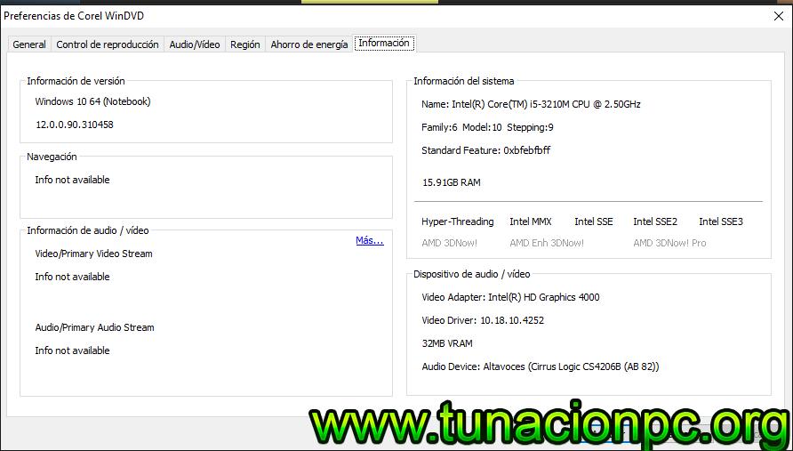 Corel WinDVD Pro Full con Serial (licencia)
