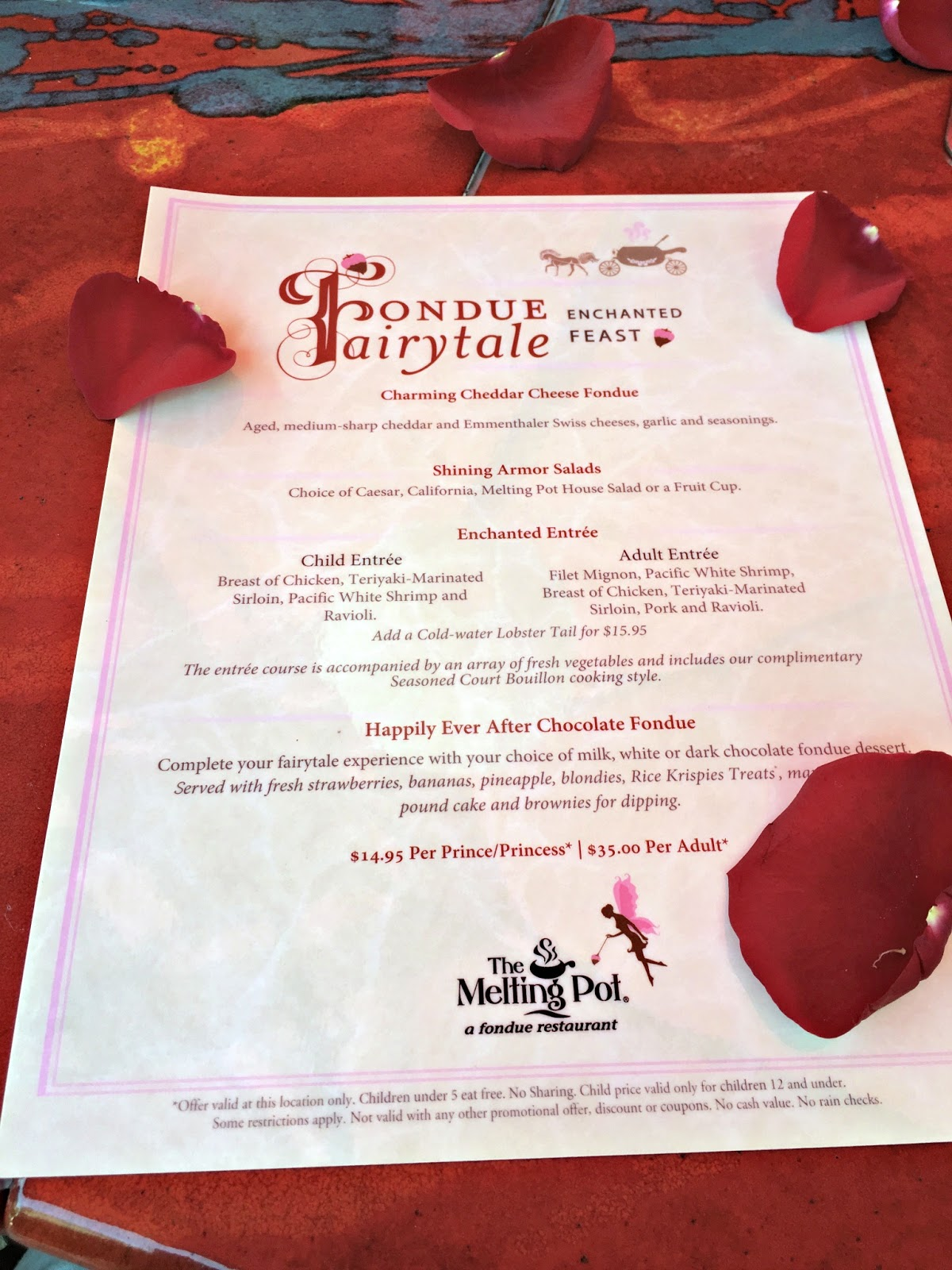 photo regarding Melting Pot Coupons Printable named Fondue Fairytales with The Melting Pot - We Obtained The Funk