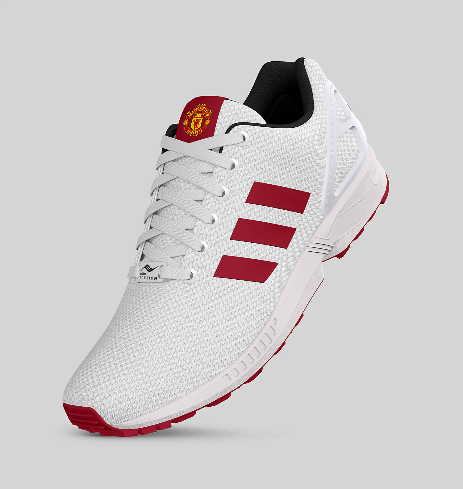 Adidas Manchester United ZX Flux Sneakers