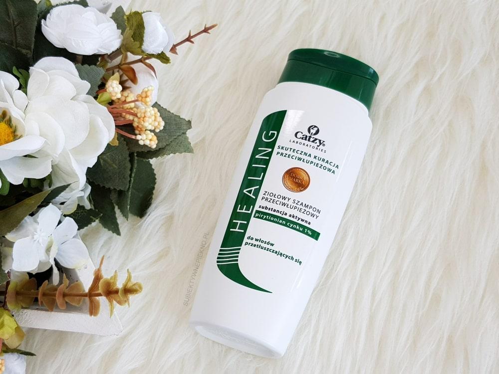 Przeciwłupieżowy szampon Catzy zielony - Catzy herbal shampoo opinie, blog