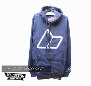 Jaket Fleece Hoodie Macbeth MAC015
