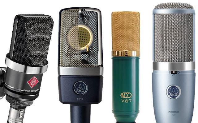 high quality microphone for studio