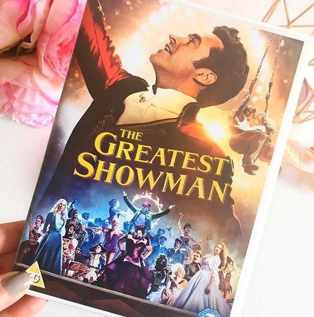 The Greatest Showman DVD
