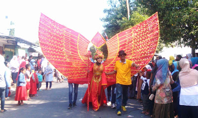 Ada Yang Unik Di Karnaval Bangilan