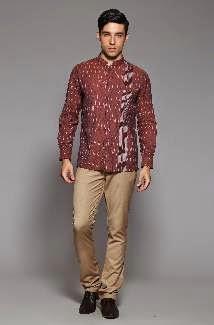 Contoh model baju muslim modern untuk pria modis