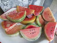 Alabaster Watermelon Slices