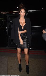 X factor judge Nicole Scherzinger