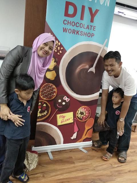 Harriston DIY Chocolate Workshop bersama The Arifs
