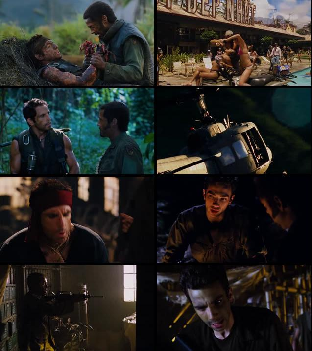 Tropic Thunder 2008 Dual Audio Hindi 480p BRRip