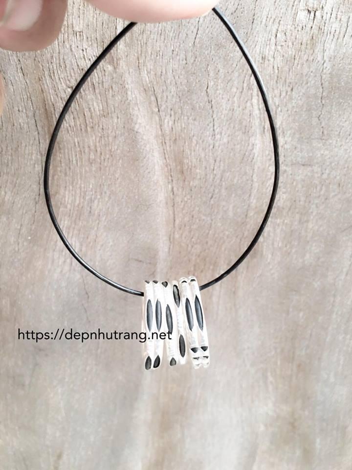 Các mẫu nhẫn lông voi kép (đôi) may mắn tình yêu mua làm quà tặng