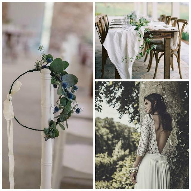 inspiración boda de verano al aire libre