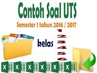 Soal - Soal UTS SD Kelas 1 2 3 4 5 6 Lengkap Format Words