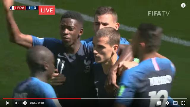 Live Streaming France vs Croatia