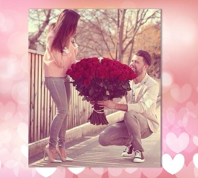 Sevgiliye 100 Kırmızı Gül Sürprizi