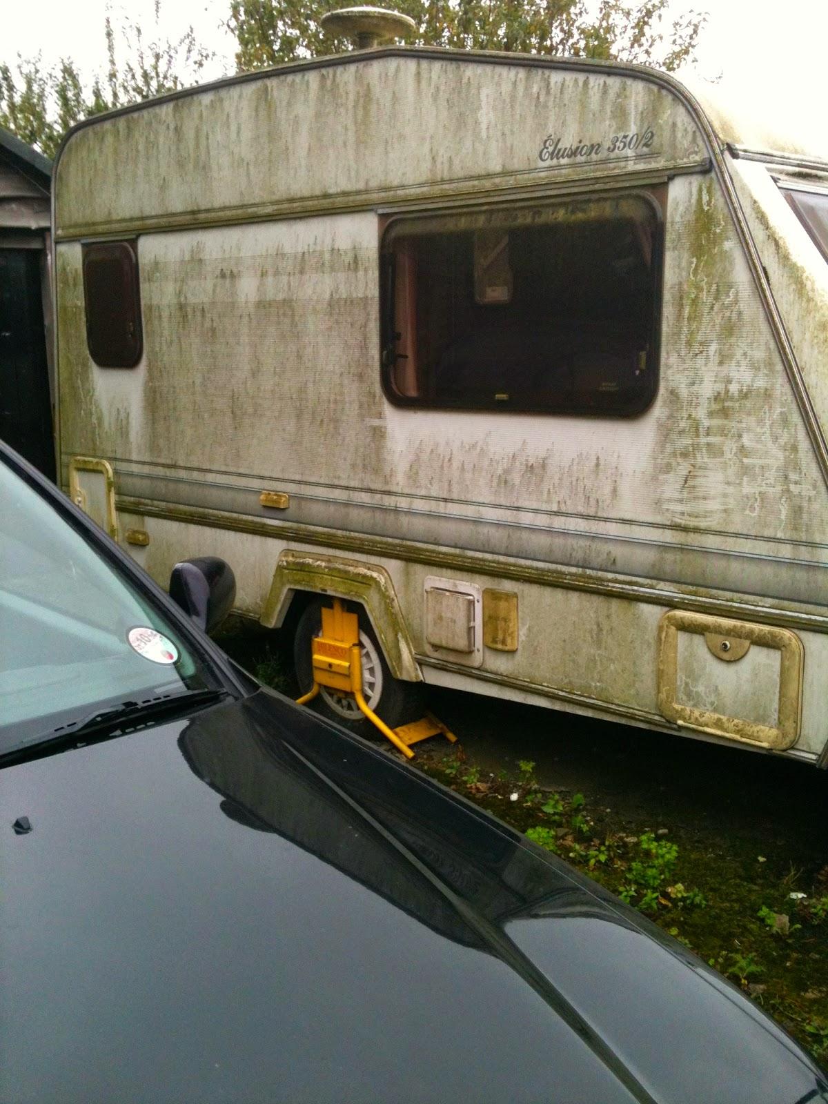 Caravan Damp Repair - Elddis Elusion 350/2 from 1994: My