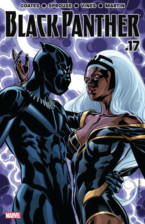 In the comic books, Black Panther is married to a super heroine you have seen on-screen since the year 2000! Any guesses? Yes, it is the X-Men alumni Storm (played by Halle Berry in the first series of movies) - she who can manipulate weather. Sadly the marriage was annulled in the comic books as he had to choose his duty for his country over his own family life.