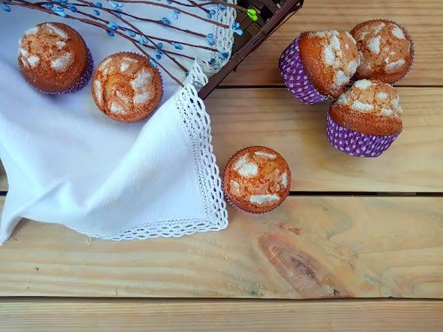 magdalenas aceite de oliva virgen extra Xavier Barriga muffins copete tradicionales esponjosas desayuno merienda postre horno AOVE