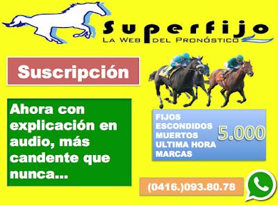 banner suscripcion superfijo carreras caballos la rinconada venezuela