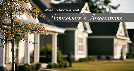 What to Know About Homeowner's Associations