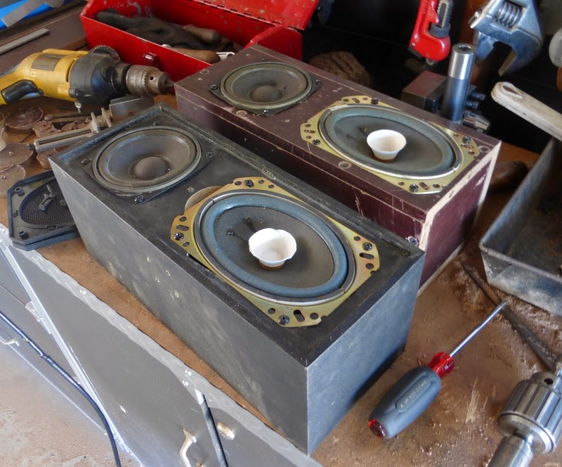 home made speaker compared with original one