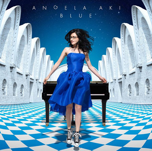 Angela Aki - Blue | Album art