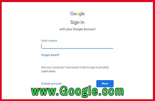 Sign it to your google account to start blogger