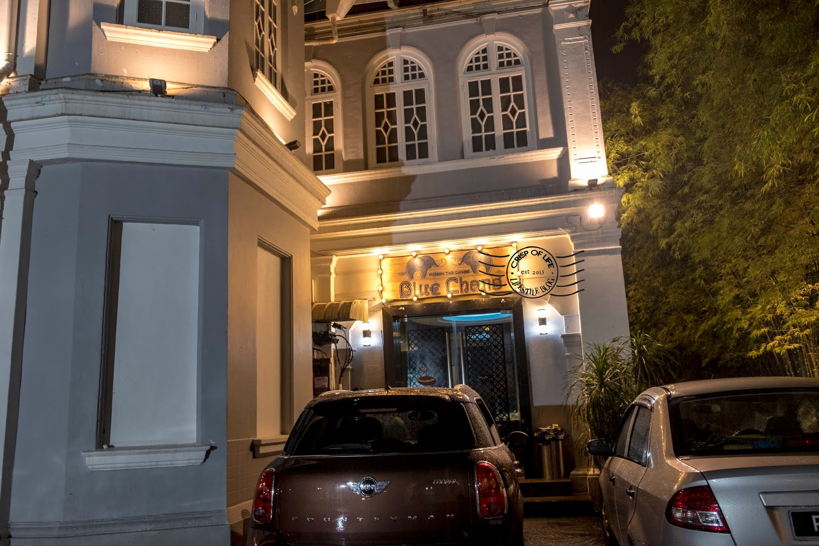Blue Chang Mordern Thai Cuisine @ Burmah Road, Georgetown, Penang