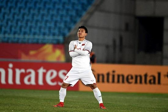 Vũ Văn Thanh - cầu thủ trẻ tài năng cho bóng đá Việt Nam