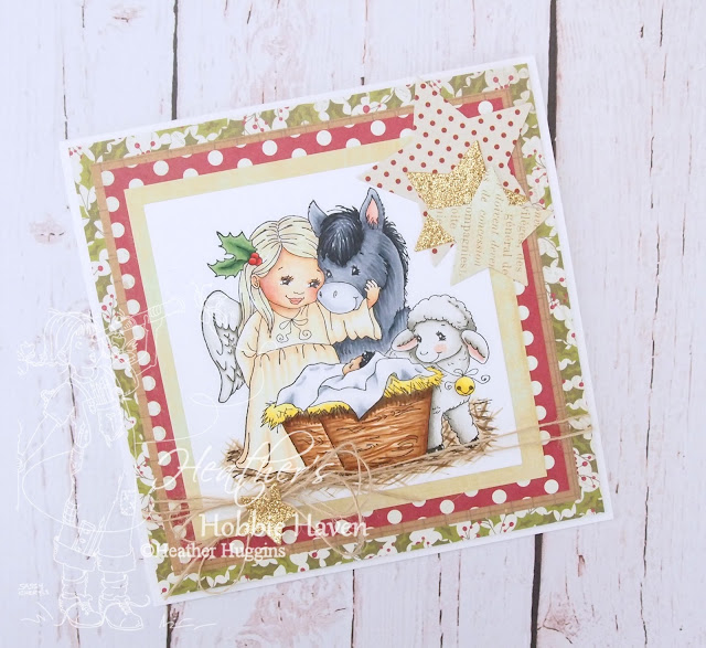 Heather's Hobbie Haven - The Infant King Card Kit