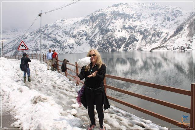 Tsomgo Lake em Sikkim, na Índia