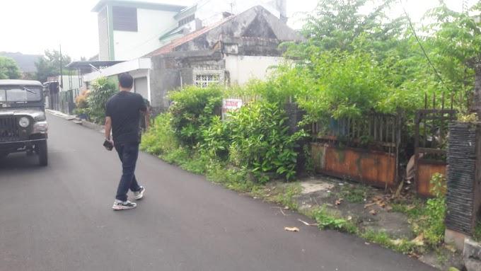 Tanah pekarangan pinggir jalan aspal Lingkungan Exclusive Tengah Kota BACIRO
