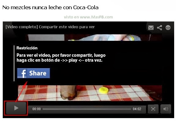 ¿Compartir para ver video?