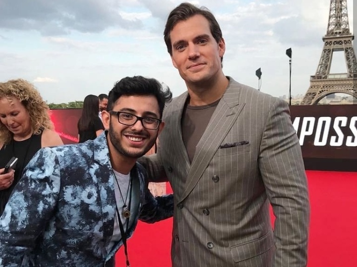 carryminati with henry cavil