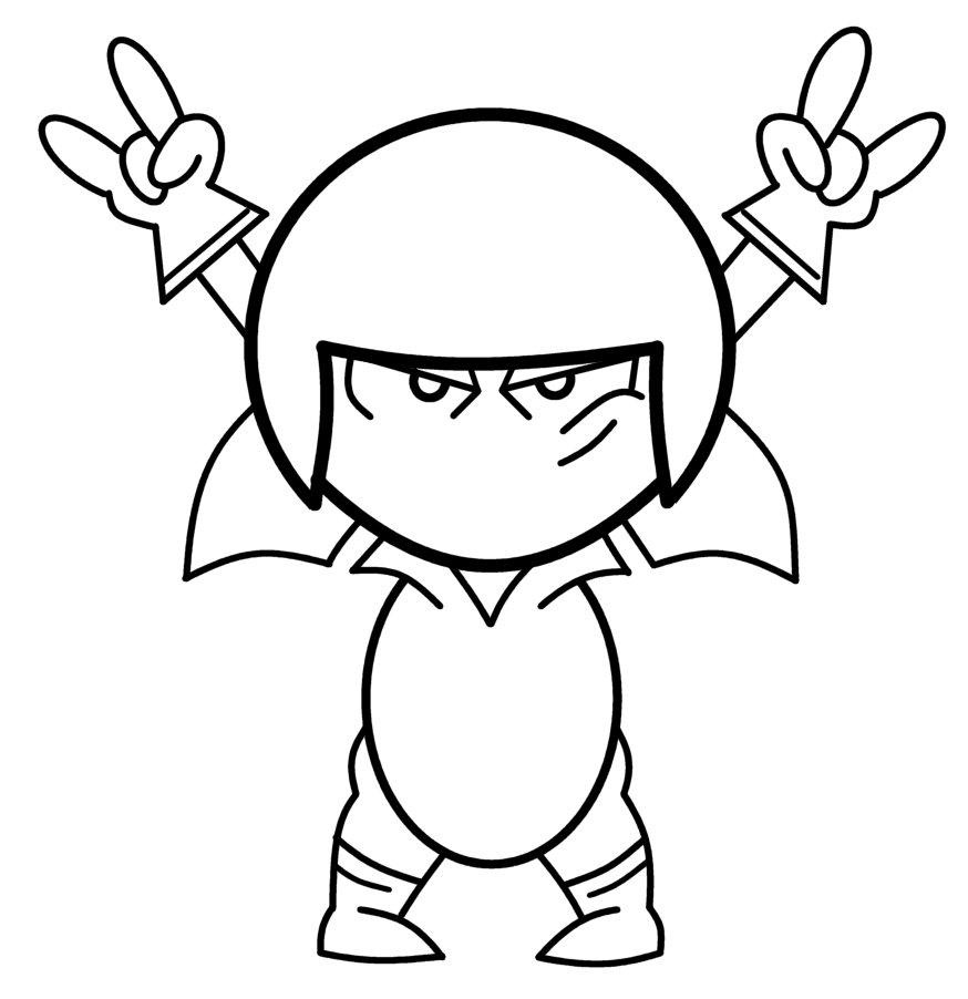 Desenhos Do Kick Buttowski Para Imprimir E Colorir Desenhar