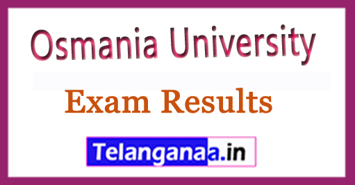 Osmania University (OU) PGDTCP Exam Results Download