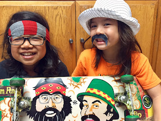 silly kids cheech and chong skateboards