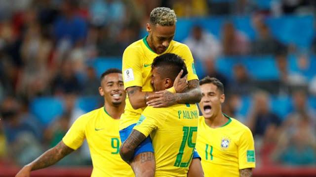 Brazil 2 - 0 Melawan Serbia Dan Memantapkan Posisi Brazil