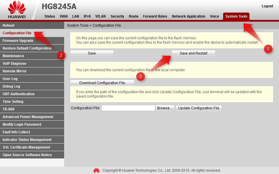 Yang Perlu Diperhatikan Ketika Setting UseeTV Huawei HG8245A